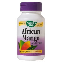 Nature's Way African Mango, Standardized, Veggie Caps 60 ea [033674158470]