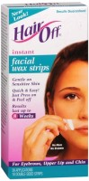 HairOff Facial Wax Strips 18 Each [018515011046]