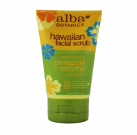 Alba Botanica Hawaiian Facial Scrub, Pore Purifying Pineapple Enzyme 4 oz [724742008086]