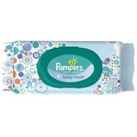 Pampers Baby Fresh Wipes Travel Pack 64 ea [037000870951]