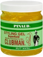 Pinaud Clubman Styling Gel Super Hold 16 oz [070066279207]