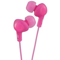 JVC Gumy Plus In-Ear Headphones, Pink 1 ea [046838046803]