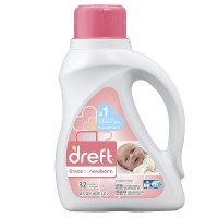 Dreft Stage 1: Newborn Liquid Laundry Detergent 50 oz [037000208266]