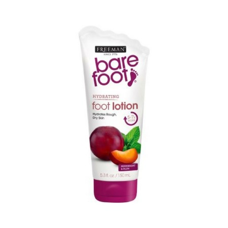 Freeman Bare Foot Exfoliating foot scrub Peppermint and Plum 5.3 oz [072151187602]