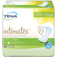 Tena Incontinence Ultra Thin Pads for Women, Light, Long, 24 ea [768702482004]