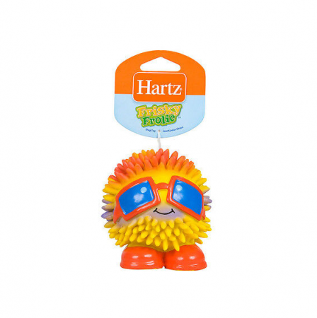 Hartz Frisky Frolic Squeakable Dog Toy, Assorted Characters 1 ea [032700866334]