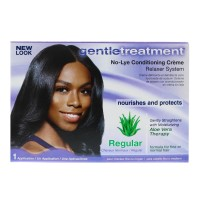 Gentle Treatment No-Lye Conditioning Creme Relaxer System, Regular 1 ea [802535203013]