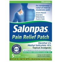 Salonpas Pain Relief Patches 5 Each [346581670059]