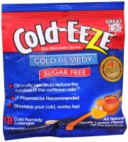 COLD-EEZE Lozenges Natural Honey Lemon Sugar Free 18 Each [091108103403]