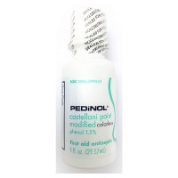 Pedinol Castellani Paint Modified First Aid Antiseptic Colorless Agent  1 oz [308842993017]