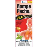 Rompe Pecho SF Cough & Flu Syrup 6 oz [000856332065]