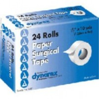 "Dynarex Paper Surgical Tape 0.5""X10YD 24  pack [616784355122]"