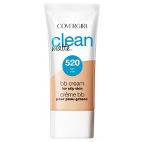 CoverGirl Clean Matte BB Cream Light 520 For Oily Skin 1 oz [022700251124]