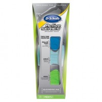 Dr. Scholl's Active Series Replacement Insoles Men's 7 1/2-10 1 Pair [011017407386]