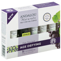 Andalou Naturals Get Started Age Defying Kit For Dry & Sensitive Skin 1 ea [859975002706]