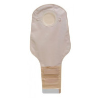 "Colostomy Pouch SurFit Natura TwoPiece System 12"" Length 134"" Stoma Drainable PreCut, 10 ea [768455106509]"