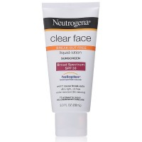 Neutrogena Clear Face Break-Out Free Liquid-Lotion Sunblock SPF 30 3 oz [086800860310]