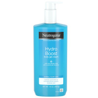 Neutrogena Hydro Boost Hydrating Body Gel Cream with Hyaluronic Acid, Non-Greasy and Fast Absorbing Cream for Normal to Dry Skin, Paraben-Free 16  oz [070501113431]