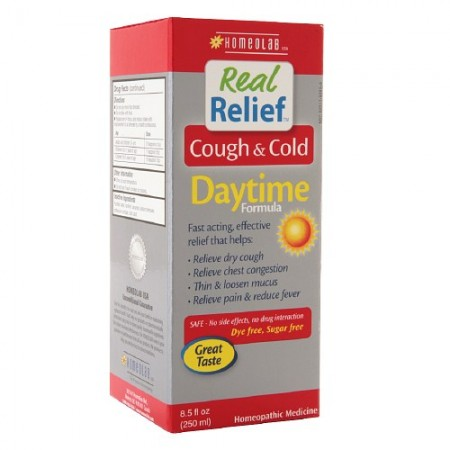 Homeolab Real Relief Cough & Cold Daytime Formula 8.5 oz [778159003073]