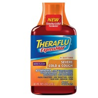 Theraflu Expressmax Daytime Severe Cold & Cough Syrup, Berry 8.3 oz [300678127086]