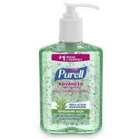 Purell Hand Sanitizer with Aloe 8 oz [073852009392]
