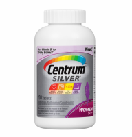 Centrum Silver Women 50+ Multivitamin/Multimineral Supplement Tablets, 200 ea [300054756718]