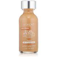 L'Oreal Paris True Match Super-Blendable Makeup, Neutral Perfect Beige [N5.5] 1 oz [071249220320]