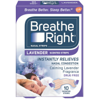 Breathe Right Scented Nasal Strips, Lavender 10 ea [757145102730]