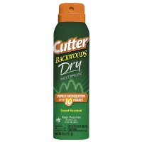 Cutter Backwoods Dry Insect Repellent Aerosol Spray 4 oz [071121962485]