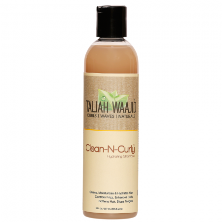 Taliah Waajid Clean-N-Curly Hydrating Shampoo, 8 oz [815680006163]