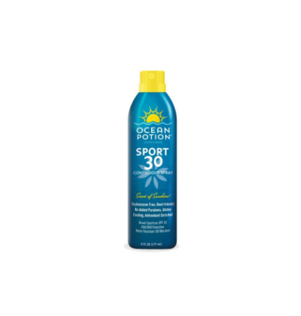 Ocean Potion Sport Sunscreen Spray, SPF 30 6 oz [000774116051]