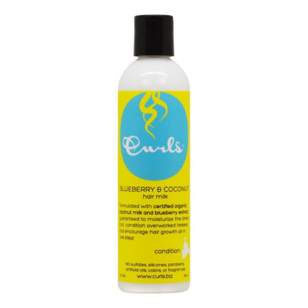 Curls Blueberry & Coconut Hair Milk, 8 oz  [859776000277]