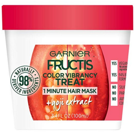 Garnier Fructis Color Vibrancy Treat Hair Mask + Goji Extract 3.4 oz [603084546275]