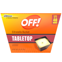 OFF! Citronella Bucket Candle 18 oz [046500708015]