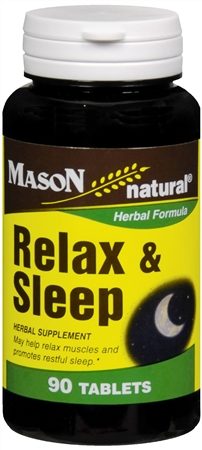 Mason Natural Relax & Sleep Tablets 90 Tablets [311845149893]