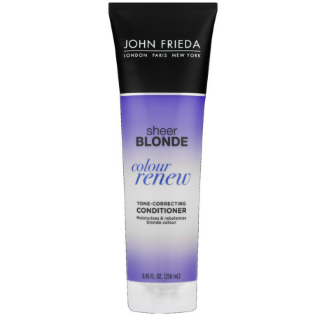 John Frieda sheer blonde Color Renew Tone Restoring Conditioner 8.45 oz [717226155444]