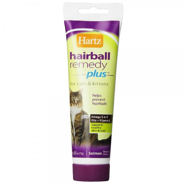 Hartz Hairball Remedy Plus Paste For Cats 2 50 Oz