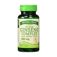 Nature's Truth Ginseng Complex 800 mg Herbal Supplement, 60 ea [840093101570]