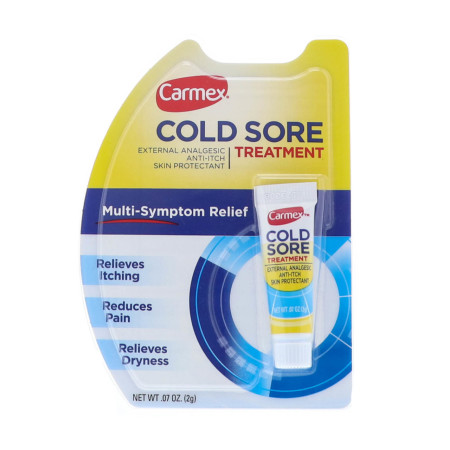 Carmex Cold Sore Treatment 0.07 oz [083078004811]