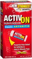 ActivOn Ultra Strength Arthritis Topical Analgesic 2 oz [870579005016]