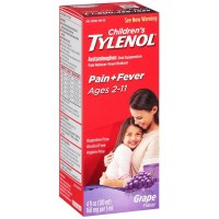 TYLENOL Children's Oral Suspension Grape Splash Flavor 4 oz [300450296047]