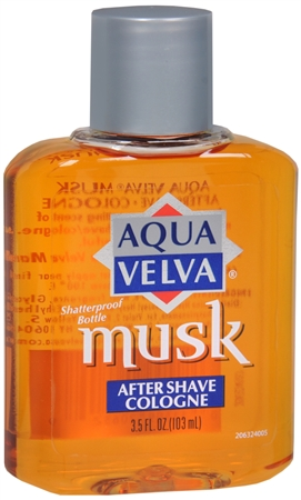 Aqua Velva Musk After Shave Cologne 3.50 oz [011509206329]