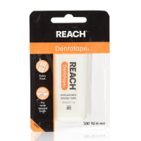 REACH Dentotape Waxed Floss, Unflavored 100 Yards [381370092216]
