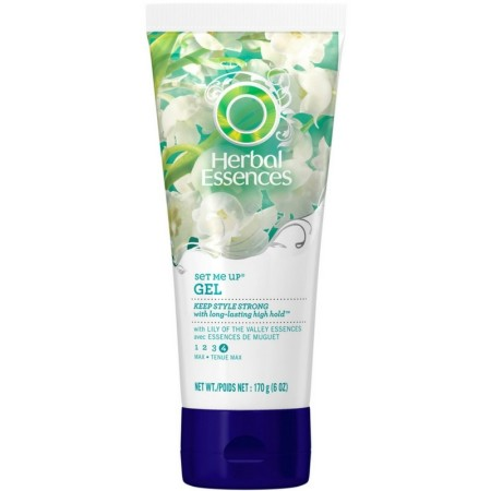 Herbal Essences Set Me Up Max Hold Gel 6 oz [381519019715]