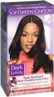 Dark and Lovely Permanent Hair Color 371 Jet Black 1 Each [072790003714]