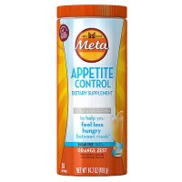 Meta Appetite Control Dietary Supplement Sugar-Free Powder, Orange Zest 14.70 oz [037000969150]