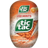 Tic Tac Mints, Orange Flavored 200 Mints 3.40 oz [009800006335]