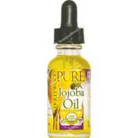 Hollywood Beauty Certified Organic Oil, Jojoba 1 oz [045836003054]