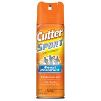 Cutter Sport Insect Repellent Aerosol Spray, Refreshing Clean Scent 6 oz [071121962539]