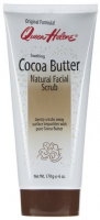 QUEEN HELENE Natural Facial Scrub, Soothing Cocoa Butter  6 oz [079896565764]